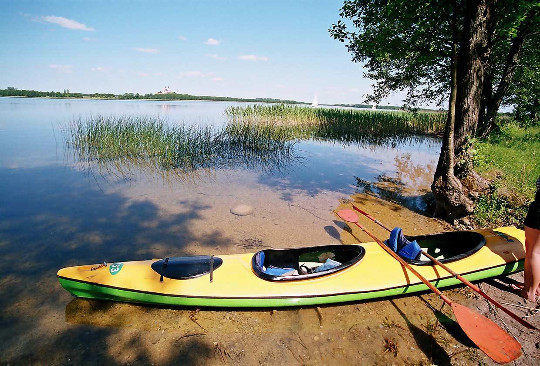 Spływy Kajakowe po jeziorze Wigry